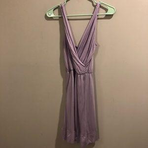 Zara Collection Light Purple Dress Soft